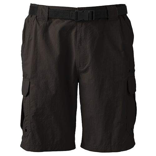 Men's Coleman Taslon Classic-Fit Belted Hiking Cargo Shorts