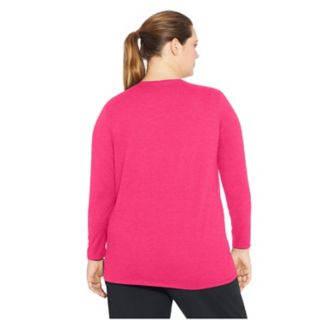 Plus Size Champion Jersey Long Sleeve Tee