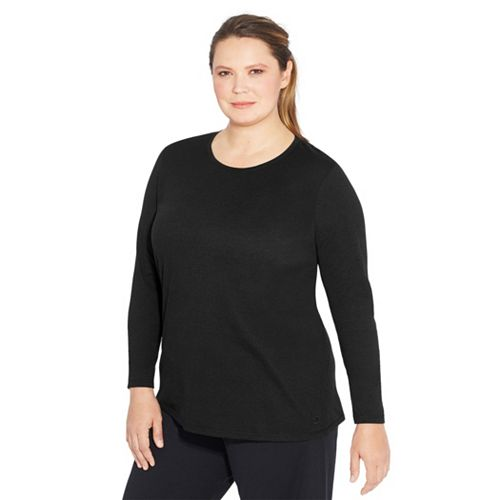 Plus Size Champion Jersey Long Sleeve Tee