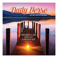 Daily Verse 2018 Daily Desk Calendar