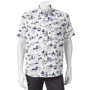 Men's Coleman Classic-Fit Textured Performance Button-Down Guide Shirt