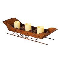 Gerson LED Candle Sleigh Decor