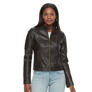 Women's Levi's Faux-Leather Moto Jacket