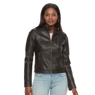 Women's Levi's Faux-Leather Moto Jacket