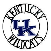Kentucky Wildcats 18-Inch Wrought Iron Wall Décor