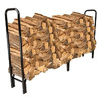 Navarro 8-ft. Outdoor Log Rack & Top Cover 2-piece Set