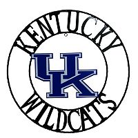 Kentucky Wildcats 24-Inch Wrought Iron Wall Décor