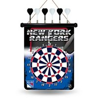 New York Rangers Magnetic Dart Board