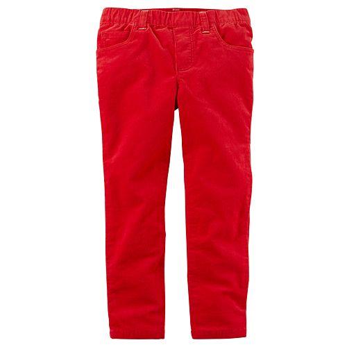 Toddler Girl Carter's Corduroy Pull-On Pants