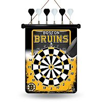 Boston Bruins Magnetic Dart Board