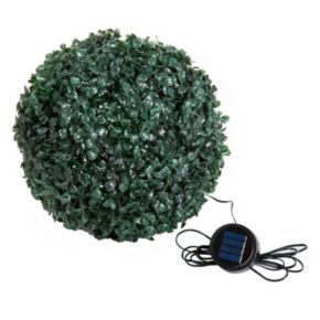 Navarro Topiary Solar Light Ball Outdoor Decor