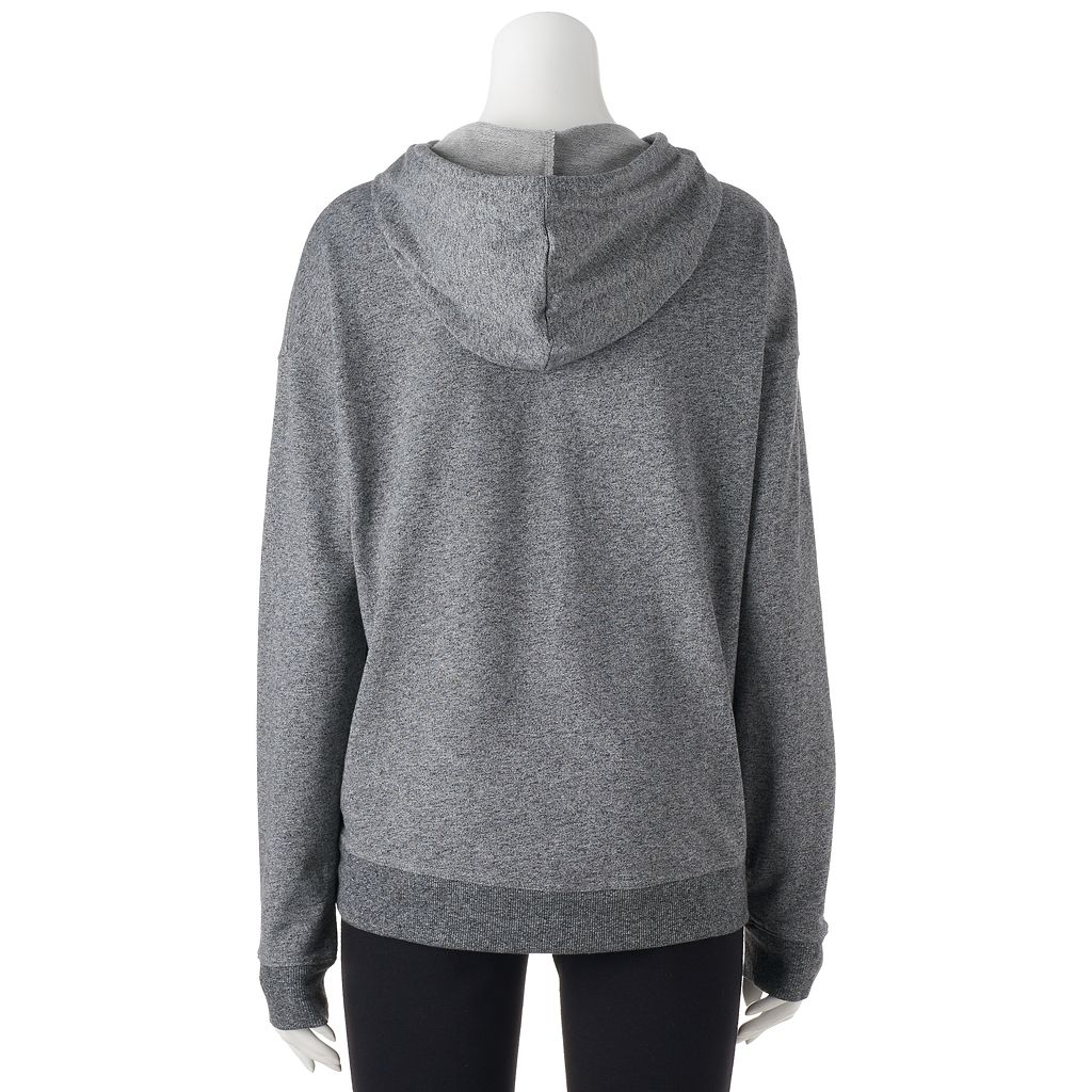 Juniors' SO® Perfectly Soft Choker Neck Hoodie