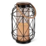 Gerson Indoor / Outdoor LED Candle Lantern