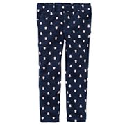 Toddler Girl Carter's Owl Print Twill Pants