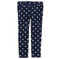 Toddler Girl Carter's Owl Print Twill Pants