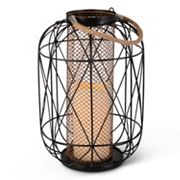 Gerson Indoor / Outdoor Large LED Candle Lantern