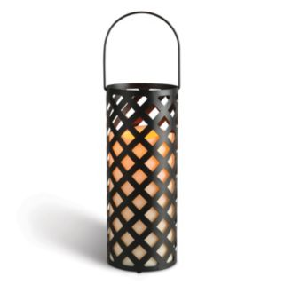 Gerson Indoor / Outdoor Cylinder LED Candle Lantern