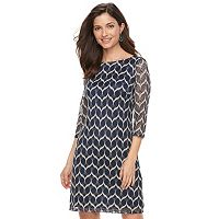 Women's Jessica Howard Print Shift Dress