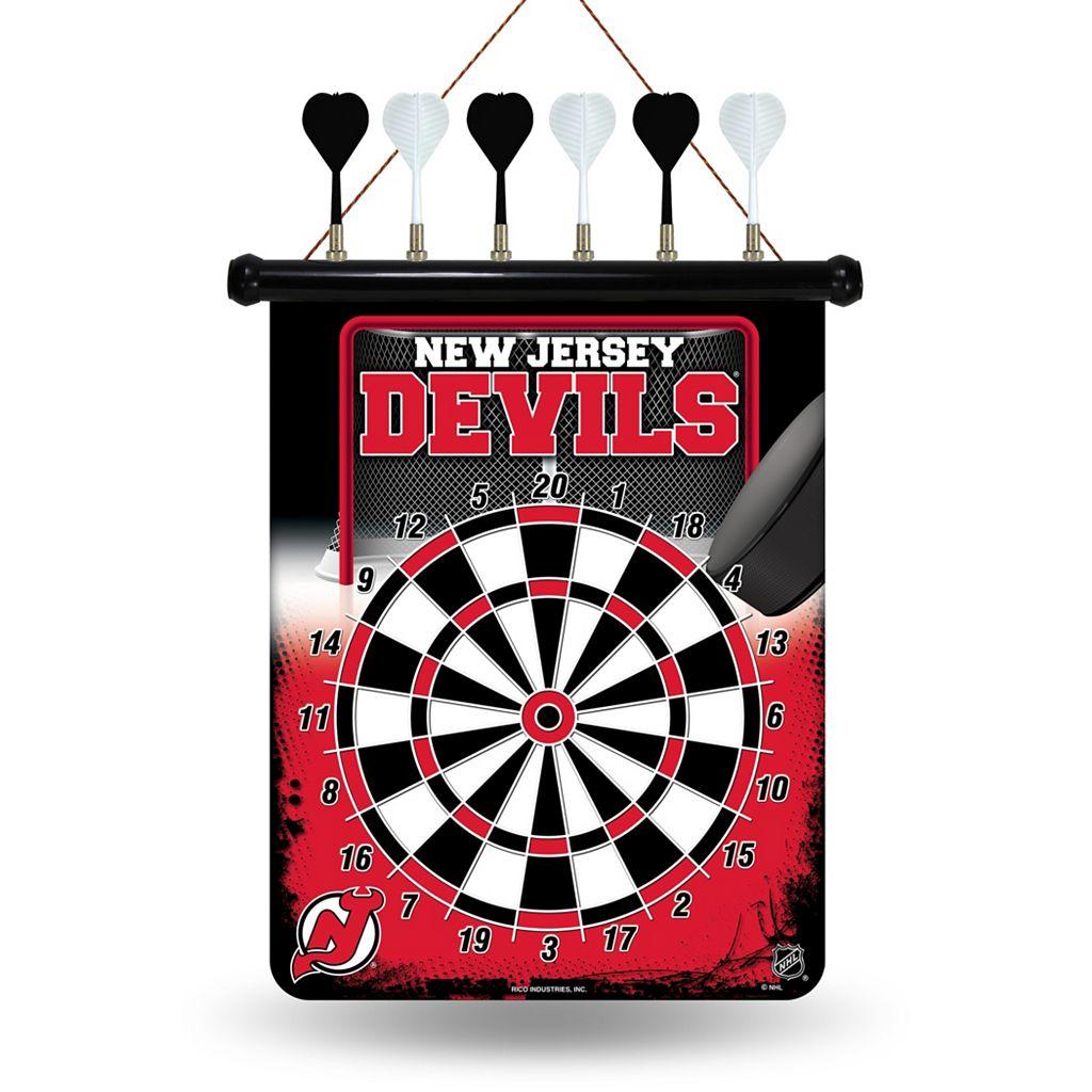 New Jersey Devils Magnetic Dart Board