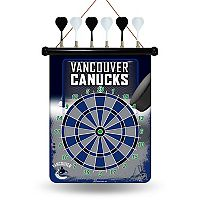 Vancouver Canucks Magnetic Dart Board