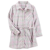 Girls 4-12 OshKosh B'gosh® Flannel Shirt