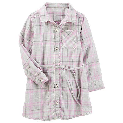 Girls 4-12 OshKosh B'gosh® Flannel Shirt