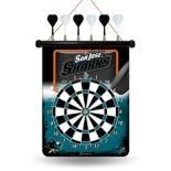 San Jose Sharks Magnetic Dart Board