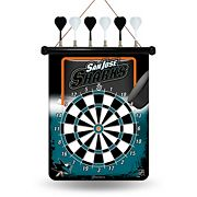 San Jose Sharks Magnetic Dart Board