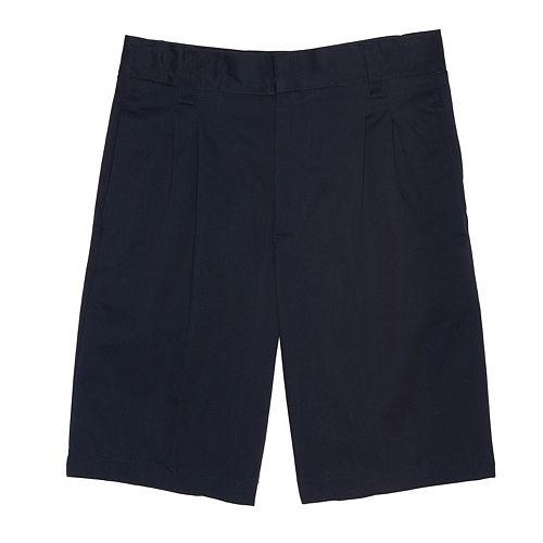 Boys 10-20 & Husky French Toast Pleated-Front Shorts