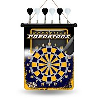 Nashville Predators Magnetic Dart Board