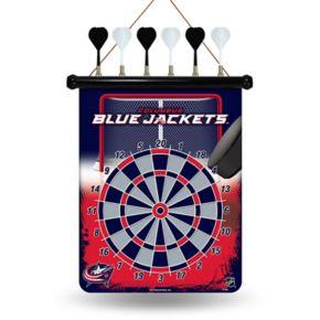 Columbus Blue Jackets Magnetic Dart Board