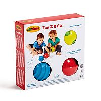 Edushape 3-pc. Fun Z Balls