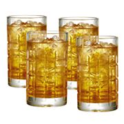 Food Network™ Houston 4 pc Highball Glass Set