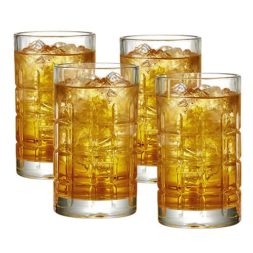 Food Network™ Houston 4-pc. Highball Glass Set