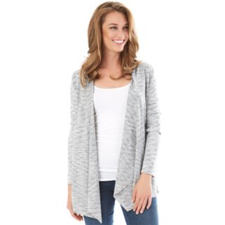 Women's Apt. 9® Marled French Terry Cardigan