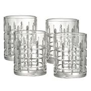Food Network™ Houston 4 pc Double Old-Fashioned Glass Set