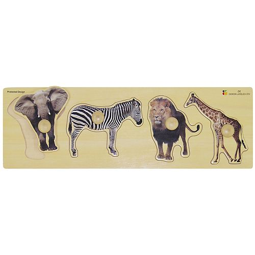 Edushape Wild Animals Giant Puzzle