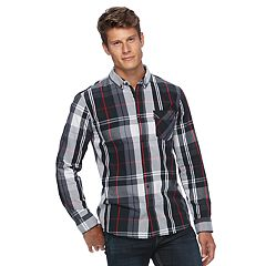 Men's Levi's® Amway Plaid Button-Down Shirt