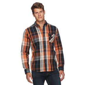 Men's Levi's® Amway Plaid Button-Down Shirt