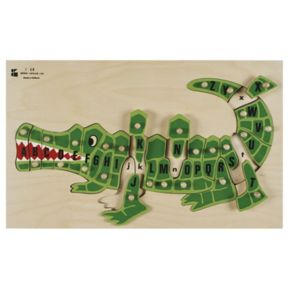 Edushape ABC Alligator Puzzle