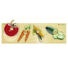 Edushape Vegetables Giant Puzzle