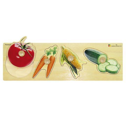Edushape Vegetables Giant Puzzle