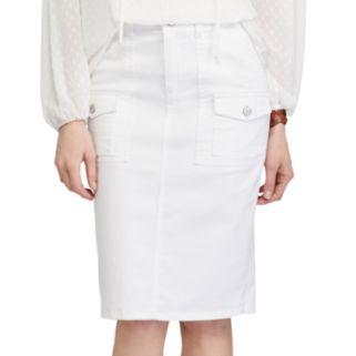 Women's Chaps Jean Pencil Skirt