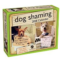 Dog 2018 Desk Calendar