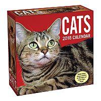 Cats 2018 Desk Calendar