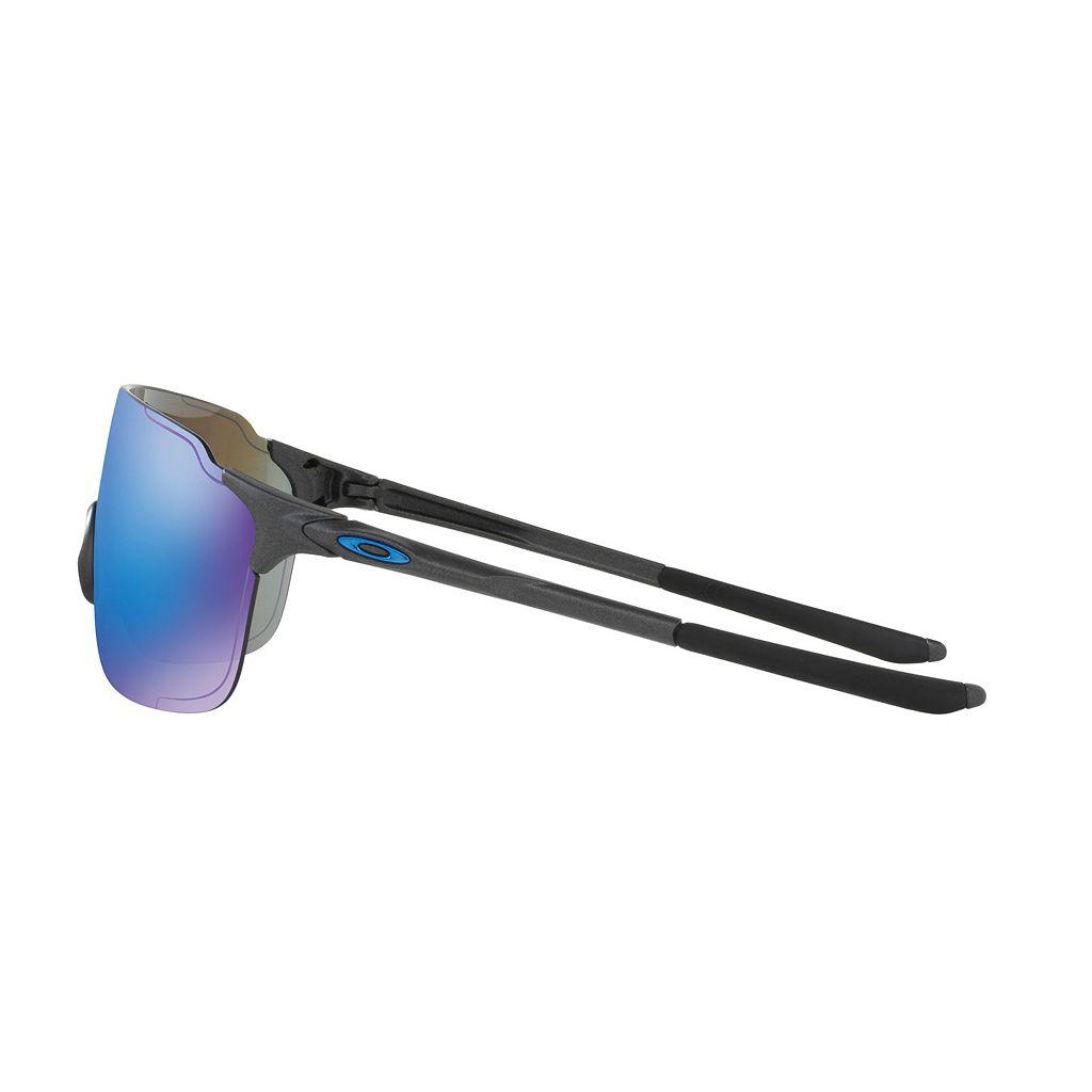 Oakley EVZero Stride OO9386 38mm Shield Sapphire Iridium Sunglasses