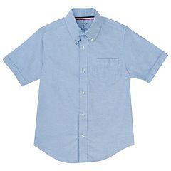 Boys 10-20 Husky French Toast School Uniform Oxford Button-Down Dress Shirt