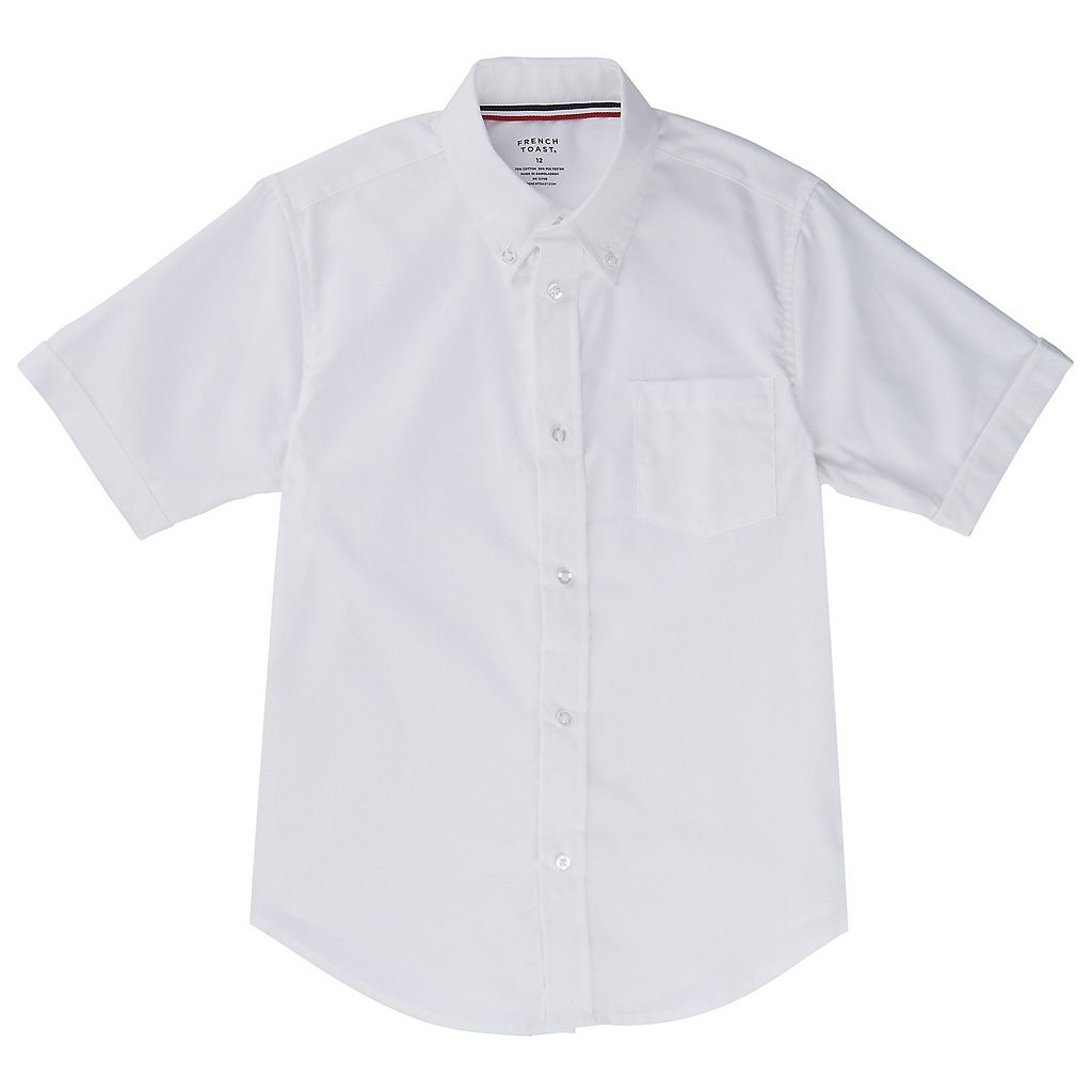 Boys 10-20 Husky French Toast School Uniform Oxford Button-Down Dress Shirt
