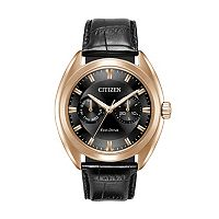 Citizen Eco-Drive Men's Paradex Leather Watch - BU4013-07H