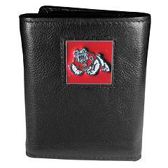 Fresno State Bulldogs Trifold Wallet